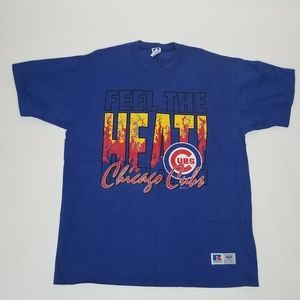 Vintage 1994 Russell Athletic Chicago Cubs shirt